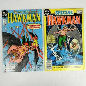 DC Comics Hawkman #1 and Special #1 Lot of 2 Books